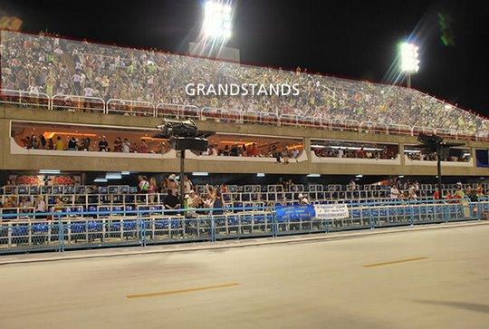 Sambadrome-grandstands
